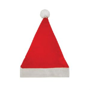 Santa Father Christmas Felt Hat With Bobble - Child Size